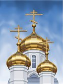 Church,Russian Culture,Russia,Onion Dome,Dome,Orthodox,Vector,Cross,Ukraine,Architecture,Orthodox Church,Gold,Religion,Gold Colored,Roof,Cultures,Cupola,Tower,Russian Orthodox,Purity,Christianity,Stone Material,Ukrainian Culture,High Section,Three Objects,Built Structure,Blue,Building Exterior,Concepts And Ideas,Places Of Worship,Ilustration,Architecture And Buildings,Day,Classic,Religion,Brightly Lit,Architectural Styles,Illustrations And Vector Art,Vector Cartoons,Bright,Shiny,Sky,Outdoors,Vibrant Color