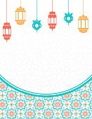 Vertical,No People,Electric Lamp,Art And Craft,Art,Illustration,Lantern,Arabic Style