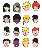 Vector People,Characters,Islam,Hinduism,Illustration,Human Body Part,Avatar,Portrait,Vector,Christianity,Human Face