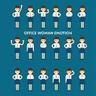 Office Woman,Woman Avatar,People Icon,Silhouette,Illustration,Business Person,People,Used,Icon Set,Computer Icon,Symbol,Business Finance and Industry,Flat,Avatar,Organized Group,Social Issues,Business,Vector,Group Of Objects,Emotion,Profile View