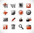Store,Symbol,Computer Icon,Internet,Icon Set,Interface Icons,Red,Shiny,Data,Time,Searching,Gray,Bin/tub,Sun,Shopping Cart,Mail,Multimedia,Clock,Postage Stamp,Butterfly - Insect,File,Pencil,Technology,Businessman,Vector Icons,Computers,Illustrations And Vector Art,Business Symbols/Metaphors,Business
