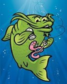 Catfish,Fishing,Cartoon,Fish,Happiness,Cheerful,Worm,Fishing Hook,Bubble,Hungry,Incentive,Seasoning,Fishing Bait,Catch of Fish,Animals And Pets,Sea Life,Salt Shaker,Salt,Illustrations And Vector Art,Food And Drink,Vector Cartoons,Water,Season,Catching,Underwater,Fishing Line
