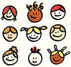 Child,Offspring,Symbol,Human Face,Cartoon,Drawing - Art Product,Photograph,Human Head,Doodle,Paintings,Happiness,Little Girls,Laughing,Little Boys,Cheerful,Smiling,People,Child's Drawing,Ilustration,Pencil Drawing,Characters,Smiley Face,African Descent,Positive Emotion,Multi-Ethnic Group,Friendship,Avatar,Vector,Group Of People,Scribble,Sketch,Real People,Outline,Ethnic,Caricature,Line Art,Sister,Image,Portrait,Looking,Brother,Top Of Head,Looking At Camera,Lifestyle,Babies And Children,Caucasian Ethnicity,Mixed Race Person,Illustrations And Vector Art,Ethnicity