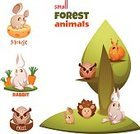 Characters,Banner,Animal Wildlife,Animal,Cute,Cartoon,Mammal,Animals In The Wild,Illustration,Nature,Zoo,Image,Fashion,Banner - Sign,Flat,Isolated,Pets,Drawing - Activity,Season,Paint,Modern,Arts Culture and Entertainment,Tree,Grass,Vector,Group Of Objects,Label