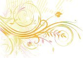 flourishes,Backgrounds,Springtime,Vector,Summer,Abstract,Flower,Swirl,Scroll Shape,Paint,Color Image,Concepts,Shape,Illustrations And Vector Art,Ilustration,Pattern,Freshness,Part Of,Leaf,Style,Design Element,Funky,Grunge,Silhouette,Arts And Entertainment,Holidays And Celebrations,Branch,Curve,Design