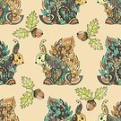 Adult,Abstract,Acorn,Squirrel,Computer Graphics,Background,Doodle,Tangle Pattern,Animal,Cute,Ornate,Mammal,Coloring,Illustration,Nature,Animal Markings,Outline,Computer Graphic,Autumn,Seamless Pattern,Pets,Embroidery,Decoration,Forest,Backgrounds,Vector,Pattern,Tattoo,Boho