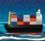 Shipping,Container Ship,Industrial Ship,Sailing Ship,Cargo Container,Container,Nautical Vessel,Freight Transportation,Sea,Night,Transportation,Hull,Crate,Mode of Transport,Transportation,Retail/Service Industry,Business Travel,Industry,Business Travel,Travel,People Traveling,Business
