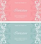 Frame,No People,Old-fashioned,Invitation,Illustration,Inviting,Banner - Sign,Banner,Floral Pattern