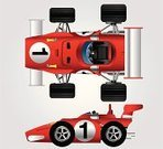 Car,Racecar,Sports Race,Formula One Racing,Competition,Motorsport,Auto Racing,Sport,Directly Above,Number 1,Grand Prix,Sports Car,Red,Toy,Toy Store,Competitive Sport,Side View,Speed,Land Vehicle,Drive,Transportation,Transportation,Mode of Transport,Sports And Fitness,Team Sports,Competition