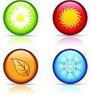 Four Seasons,Symbol,Season,Four Objects,Heat - Temperature,Computer Icon,Sign,Cold - Termperature,Sun,Month,Number 4,Springtime,Sunlight,Circle,Daisy,Winter,Design Element,Summer,Nature,Snowflake,Flower,Autumn,Abstract,Leaf,Vector,Concepts,Design,Ice,Snow,Weather,Red,Ilustration,Year,Orange Color,Yellow,Illustrations And Vector Art,Nature,Nature Symbols/Metaphors,Color Image,Vector Florals,Vector Icons,Green Color,Brown,Blue,Plant