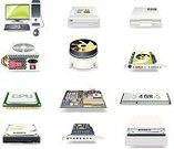 Computer Part,Symbol,Computer,Computer Icon,Icon Set,Electrical Component,Circuit Board,Hard Drive,Mother Board,Surface Mount Component,CPU,Computer Chip,PC,processor,Pci Card,Desktop PC,CD-ROM Drive,Heat Sink,Mainboard,Computer Keyboard,Case,Equipment,Disk Drive,Computer Port,Vector,Computer Monitor,Power Supply Box,Memory Slot,Ornate,Conformity,Input Device,Computer Port Card,Group of Objects,Interface Icons,Computer Peripheral,video card,CD-ROM,Computer Mouse,Ilustration,sound card,Design Element