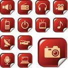 Symbol,Computer Icon,Icon Set,Camera - Photographic Equipment,Red,Radio,Television Set,Telephone,Internet,Multimedia,Information Medium,Set,Photograph,Telecommunications Equipment,Movie Camera,Music,Home Video Camera,Square Shape,Computer,Label,Mobile Phone,Sign,Electronics Industry,Microphone,Sound,Vector,Laptop,Antenna - Aerial,Collection,Equipment,Headset,Headphones,Film Industry,Interface Icons,Megaphone,Sticky,Shiny,Clip Art,Ilustration,Technology Symbols/Metaphors,Illustrations And Vector Art,Technology,Vector Icons