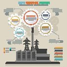 No People,Illustration,Infographic,Data,Factory,Vector