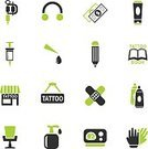 Adult,logo design,Tattoo Book,Tattoo Design,Tattoo Machine,Close-up,Hygiene,Women,Autoclave,Funky,Pencil,Decoration,Cultures,Arts Culture and Entertainment,Illustration,Syringe,Ornate,Tattooing,Currency,Studio,Fashion,Store,Ink,Tattoo,Earring