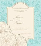 Celebration,No People,Template,Announcement Message,Anniversary,Congratulating,Vector,Backgrounds,Old-fashioned,Flower,Wedding,Postcard,Invitation,Engagement,Party - Social Event,Illustration,Inviting,Ornate,Greeting Card,Floral Pattern,Pattern