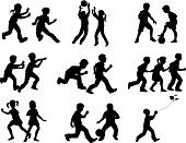 Child,Silhouette,Sport,Playing,Childhood,Basketball - Sport,Basketball,Soccer,Running,Jumping,Exercising,Outline,Little Boys,Vector,Kite - Toy,Little Girls,Playful,Tag,Action,Leisure Games,Relaxation Exercise,Ilustration,Soccer Ball,Recreational Pursuit,Black Color,Computer Graphic,Chasing,Motion,Cut Out,Physical Activity,Activity,Fun,Catching,Isolated,Togetherness,Black And White,Pursuit - Concept,Strength,Energy,Clip Art,Leisure Activity,Speed,Enjoyment,Clipping Path,Effort,Isolated On White,Multiple Image,White Background,Wellbeing,Self Improvement,Competitive Sport