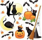 Halloween,Domestic Cat,Bat - Animal,Black Color,Human Face,Pumpkin,Spider,Icon Set,Candy Corn,Clip Art,Cute,Ilustration,Vector,Witch's Hat,Broom,Set,Religious Icon,Carving - Craft Product,Fear,Moon,Label,Horror,Spooky,Sitting,Holiday,Halloween,Illustrations And Vector Art,Halloween Cat,Color Image,Holidays And Celebrations,Animals And Pets,Group Of Animals,Full Moon,Flying,Black Widow Spider,Series,Vampire Bat,Icon Series