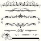 Arabic Style,Knick Knack,Frame,Baroque Style,Ornate,Vector,Pattern,Floral Pattern,Striped,Decoration,Flower,Computer Graphic,Design,Antique,Horizontal,Classical Style,Design Element,Elegance,Black And White,Shape,Banner,Abstract,Art,Set,Curve,Decor,Drawing - Art Product,Plant,Symmetry,Clip Art,No People,Ilustration,Arts And Entertainment,Arts Abstract,Illustrations And Vector Art,Vector Ornaments,Vector Florals,Creativity