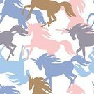 Fairy Tale,Dreamlike,Imagination,Paranormal,Fantasy,Mystery,No People,Miracle,Animal,Animal Markings,Cute,Fairy,Illustration,Unicorn,Seamless Pattern,Cartoon,Mythology,Pattern
