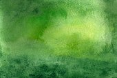 Horizontal,Abstract,No People,Background,Illustration,Watercolor Painting,Paint,Backgrounds,Multi Colored,Green Color
