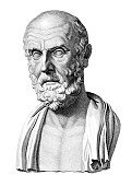Hippocrates,Greek Culture,Statue,Healthcare And Medicine,Greece,Ancient Greece,Old-fashioned,Ilustration,Antique,History,Engraved Image,The Past,Name Of Person,Men,Old,White Background,Sculpture,Ancient Civilization,Black And White,Senior Men,Europe,European Culture,Portrait,Balding,Social History,Fine Art Portrait,Only Men,Medical,Only Senior Men,One Man Only,Medicine And Science,Head And Shoulders,Character Traits,One Senior Man Only,People,One Person,Concepts And Ideas,Vertical