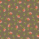 Square,No People,Flower,Illustration,Seamless Pattern,Watercolor Painting,Watercolor Paints,Backgrounds,Pattern,Floral Pattern