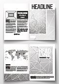 No People,Illustration,Plan,Brochure,Plan,Flyer - Leaflet,Vector,Skyhawk