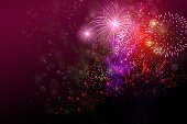 fireworks show,Horizontal,Copy Space,Background,Illustration,Luminosity,Firework - Explosive Material,Night,Exploding,Backgrounds,Multi Colored,Colors