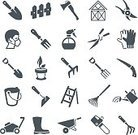 No People,Icon Set,Work Tool,Vector,Shovel,Agriculture,Illustration,Gardening Equipment