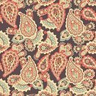Repetition,No People,Flower,Ornate,Illustration,Seamless Pattern,Decoration,Backgrounds,Vector,Paisley Pattern,Flourish,Pattern,Floral Pattern