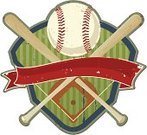 Baseball - Sport,Sport,Sign,Old-fashioned,Baseball Bat,Baseball Diamond,Banner,1940-1980 Retro-Styled Imagery,Insignia,Grunge,Coat Of Arms,Youth League,Shield,Weathered,Sports Symbols/Metaphors,Sports Backgrounds,Team Sports,Sports And Fitness