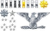 Eagle - Bird,Rank,Military,Army,Insignia,Symbol,Colonel,General,Badge,Officer,Star Shape,Armed Forces,USA,Computer Icon,American Culture,Icon Set,Vector,Gold Colored,Gold,Lieutenant,ranking,Major,Silver Colored,Silver - Metal,Authority,Boat Captain,Weapon,Chief,Striped,Leadership,Uniform,Set,Expertise,Occupation,Enlisting,Control,Group Of People,The Americas,Order,Group of Objects,Brass,Shiny,Ilustration,brigadier,Concepts And Ideas,First Place,Vector Icons,commissioned,Illustrations And Vector Art,Power,Series