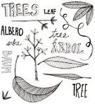 Design Element,Leaf,Drawing - Art Product,Doodle,Tree,Sketch,Ilustration,Single Word,Black Color,Decoration,White,hand drawn,Nature,Concepts And Ideas,hand lettered,graphic element