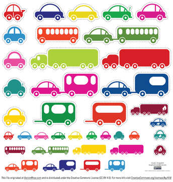 Toy Cars and Bus