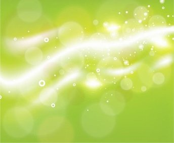Free Green Bokeh Abstract Light Background