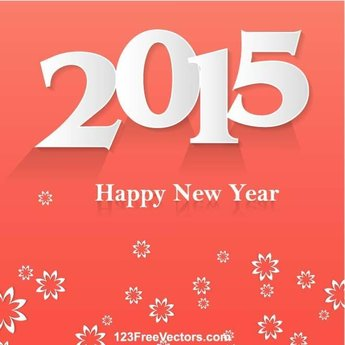 HAPPY NEW YEAR 2015 POSTER VECTOR.ai