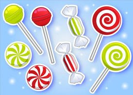 Peppermint Candy Vectors