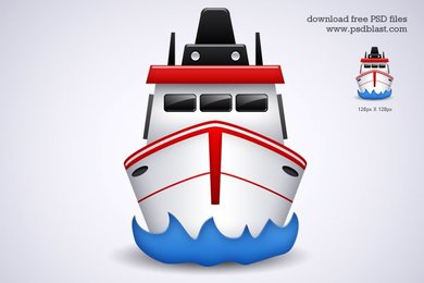Free shipping Transport icon (PSD)