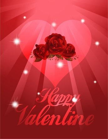 Exquisite Valentine Background