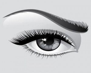 Stock Ilustration Eyebrow