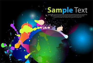 Color Abstract Background Art