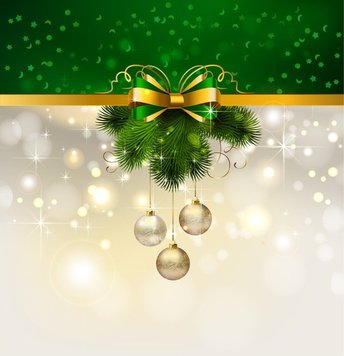 Christmas Decoration Background