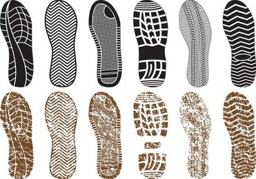 A Variety Of Fine Shoe Print 03