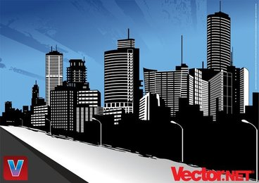 Vector City Skyline Art