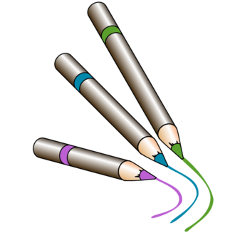 Crayons Vector Art