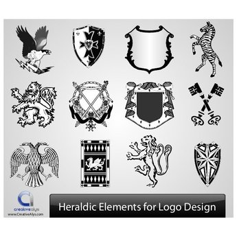 HERALDIC VECTOR ELEMENTS.ai