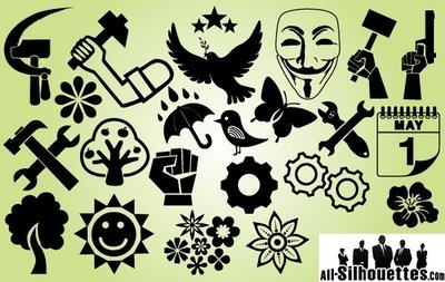 Symbol Pack International Labor Day