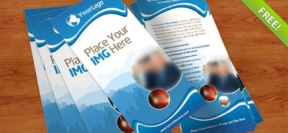 Rack Card PSD Template