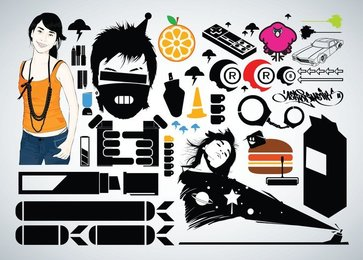 Free Vector Graphic Pack