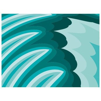 TURQOUISE ABSTRACT VECTOR BACKGROUND.ai